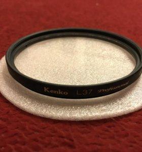Ультрафиолетовый светофильтр Kenko L37 UV 67mm