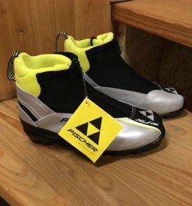 Новые лыжные ботинки Fischer XJ Sprint. 38 размер