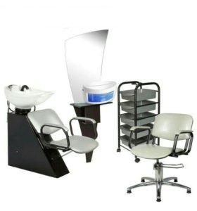 Парикмахерский комплект мебели эконом
