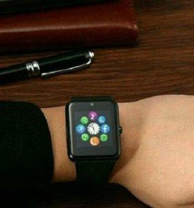 Смарт часы GT08. Черные. Доставка.