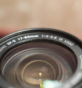 Объектив Canon 17-85mm