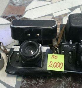 Фотоаппараты советского производства