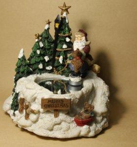 Рождественская музыкальная скульптура