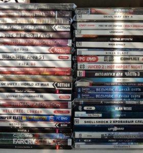 44 диска с играм на PC