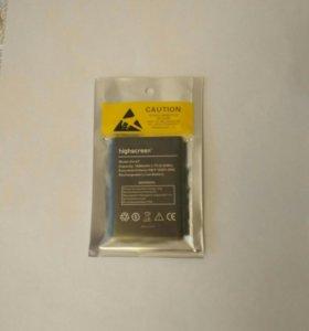 Акомуляторная батарея для Higscreen zera F.
