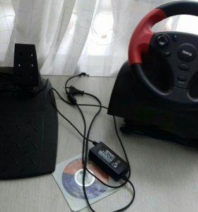 Игровой руль Dialog GW-22 FB