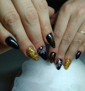 Реснички и ногти