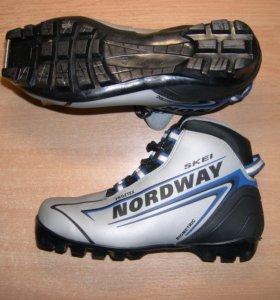Лыжные ботинки коньки обмен продажа