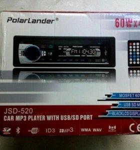 Блютуз магнитола / AUX / USB /SD