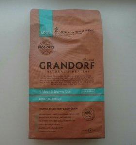 Корм Grandorf для собак всех пород. 4 мяса/рис