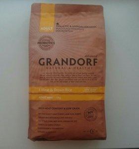 Корм Grandorf для собак мелких пород. 4 мяса/рис