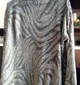 Вечерняя блузка- туника