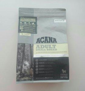 Acana ADULT SMALL BREED - для собак мелких пород.
