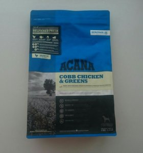 Acana Cobb Chicken & Greens для собак всех пород