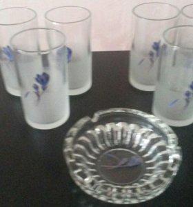 Стеклянные стаканы... дешево