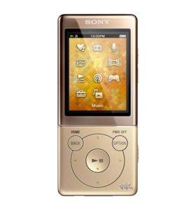 Sony NWZ-E474 8Гб GOLD новый гар-я доставка