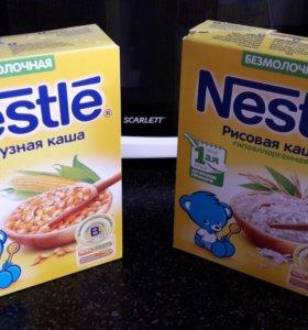 Каши Nestle безмолочные
