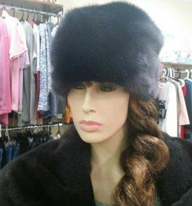 Новая норковая шапочка