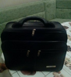 Мужская сумка для работы,эко кожа.