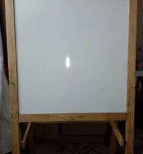 Мольберт для рисования мелками и фломастерами икея