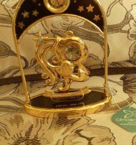 """Часы """"Водолей"""""""