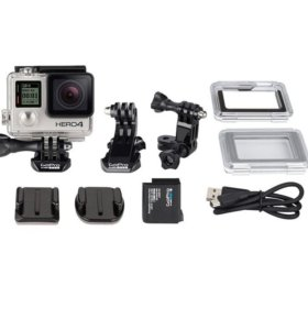 Экшн-Камера GoPro Hero 4 Silver Edition. Новая.