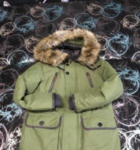 Курточка зимняя для мальчика 11 -12 лет