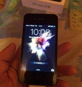 Phone 4s 16 g Черный