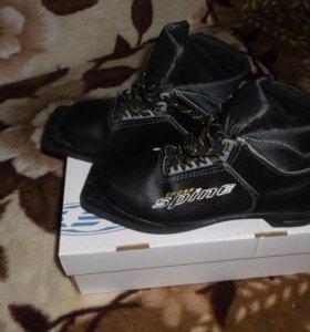 лыжные ботинки 36размер