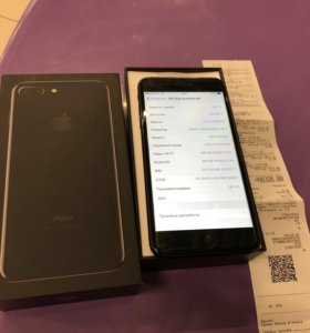 Apple iPhone 7 Plus 128Гб Jet Black РСТ