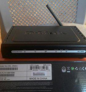 Роутер D-Link DSL-2600U