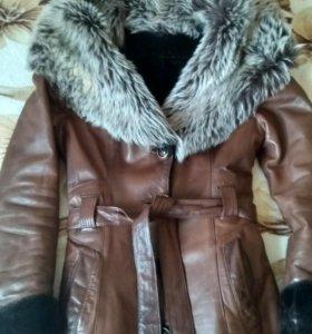 Кожаная куртка (дубленка)