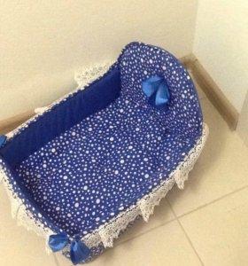 Лежак для кошки с матрасом 40/30 см