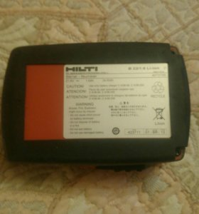 Новый Аккумулятор для шуруповерта HILTI