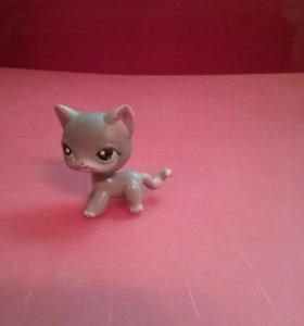 Littlest pet shop серая кошка #126