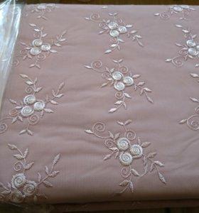 Новое двуспальное постельное белье (сатин)