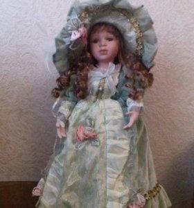 Фарфоровые куклы дамы эпохи
