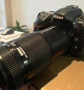 Nikon D300s vs AF Nikkor 70 - 210