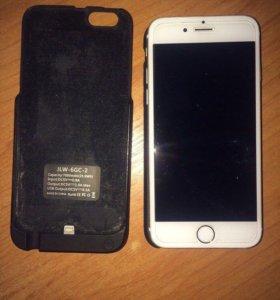 Apple iPhone 6 Gold на 64 гига