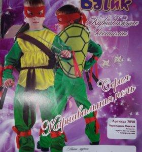 Новогодний костюм черепашка-ниндзя