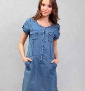 Джинсовое платье F5 новое