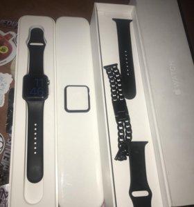 Часы Apple Watch space grey.