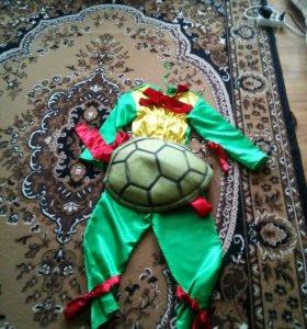 Детский костюм черепашки ниндзя