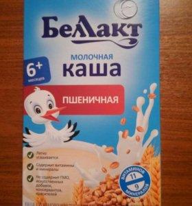 каша молочная пшеничная Беллакт