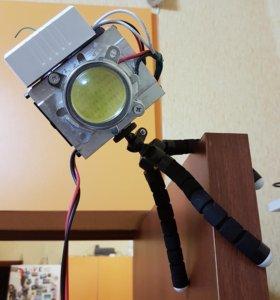 Прожектор светодиодный с линзой 50Вт
