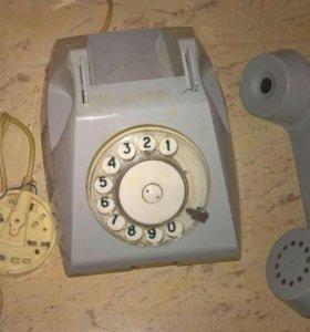 Советский телефон на запчасти