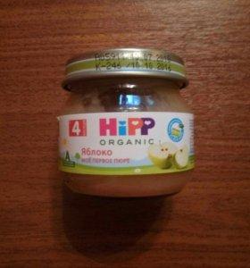 пюре яблочное hipp