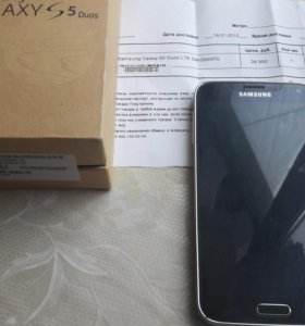 Samsung s5 duos рст