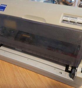 Матричный принтер epson LQ-630