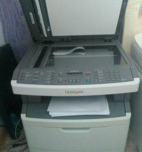 Принтер, сканер, копир. Lexmark X264dn